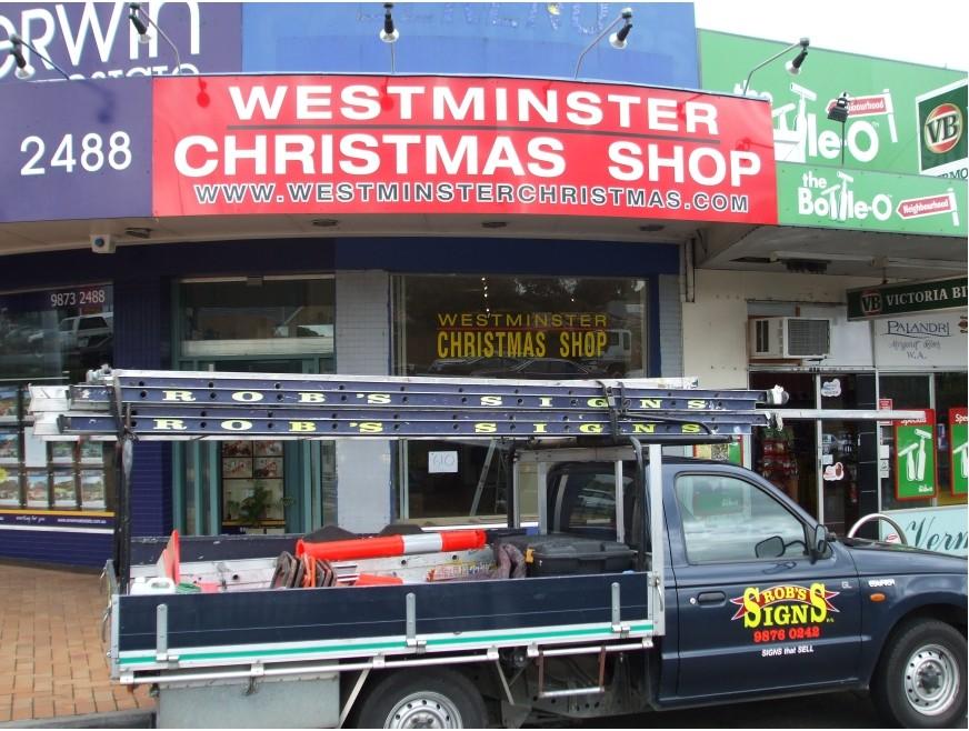 WESTMINSTER CHRISTMAS SHOP